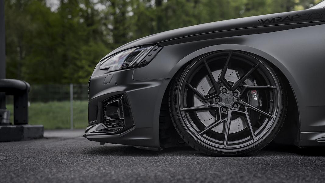 Simon Motorsport Audi RS4 B9 Z Performance Airride Tuning 7 Schwarzes 530 PS Biest   Simon Motorsport Audi RS4 B9