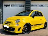 TVW Fiat 500 Abarth Yellow Race Edition 2019 Tuning 12 190x143 Perfekt   TVW Fiat 500 Abarth Yellow Race Edition 2019