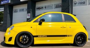 TVW Fiat 500 Abarth Yellow Race Edition 2019 Tuning 4 310x165 Extremer Umbau   320 PS Fiat Abarth 595C Widebody