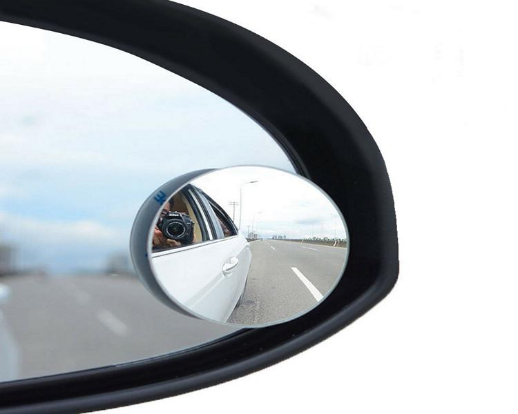 Blind spot mirror Additional mirror tuning Direct and indirect vision: avoidance of accidents caused by blind spots