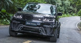 Tuning ASPEC PLR610RS Widebody Range Rover Sport 2 310x165 007 Spectre inspirierter Defender von Urban Automotive