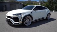 V2 1016 Industries Widebody Kit Brixton Wheels Tuning Lamborghini Urus 10 190x107 V2 1016 Industries Widebody Kit am Lamborghini Urus