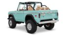 1970 Ford Bronco Gen1. Restomodo V8 Jupiter Blue Tuning 10 135x74 Babyblau   1970 Ford Bronco Gen1. mit 5.0 V8 Power