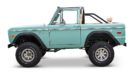 1970 Ford Bronco Gen1. Restomodo V8 Jupiter Blue Tuning 11 135x74 Babyblau   1970 Ford Bronco Gen1. mit 5.0 V8 Power