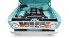 1970 Ford Bronco Gen1. Restomodo V8 Jupiter Blue Tuning 14 135x74 Babyblau   1970 Ford Bronco Gen1. mit 5.0 V8 Power