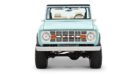 1970 Ford Bronco Gen1. Restomodo V8 Jupiter Blue Tuning 16 135x74 Babyblau   1970 Ford Bronco Gen1. mit 5.0 V8 Power