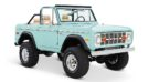 1970 Ford Bronco Gen1. Restomodo V8 Jupiter Blue Tuning 25 135x74 Babyblau   1970 Ford Bronco Gen1. mit 5.0 V8 Power