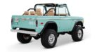 1970 Ford Bronco Gen1. Restomodo V8 Jupiter Blue Tuning 28 135x74 Babyblau   1970 Ford Bronco Gen1. mit 5.0 V8 Power