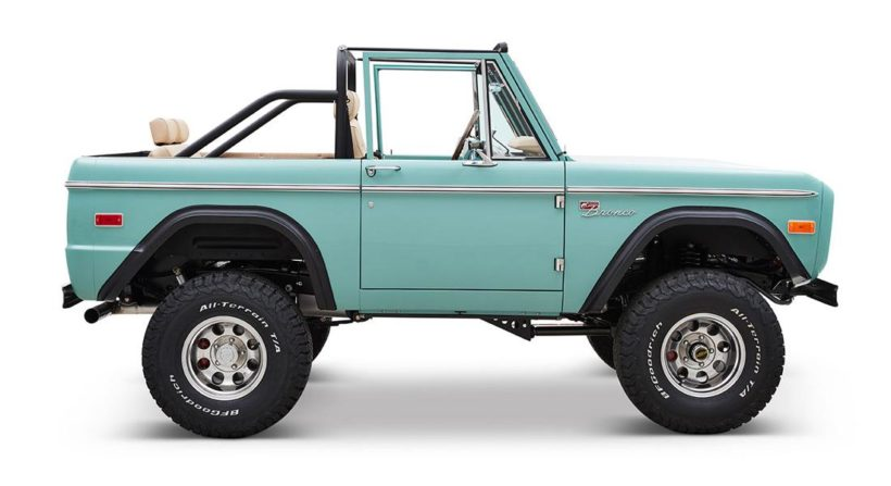 Baby Blue 1970 Ford Bronco Gen1 With 5 0 V8 Power