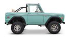 1970 Ford Bronco Gen1. Restomodo V8 Jupiter Blue Tuning 30 135x74 Babyblau   1970 Ford Bronco Gen1. mit 5.0 V8 Power