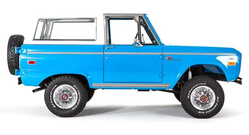 1970 Ford Bronco Gen1. Restomodo V8 Jupiter Blue Tuning 33 1 e1566454812403 Babyblau   1970 Ford Bronco Gen1. mit 5.0 V8 Power