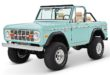 1970 Ford Bronco Gen1. Restomodo V8 Jupiter Blue Tuning 7 110x75 Babyblau 1970 Ford Bronco Gen1. mit 5.0 V8 Power