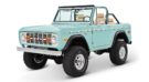 1970 Ford Bronco Gen1. Restomodo V8 Jupiter Blue Tuning 7 135x74 Babyblau   1970 Ford Bronco Gen1. mit 5.0 V8 Power