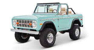1970 Ford Bronco Gen1. Restomodo V8 Jupiter Blue Tuning 7 310x165 Babyblau   1970 Ford Bronco Gen1. mit 5.0 V8 Power