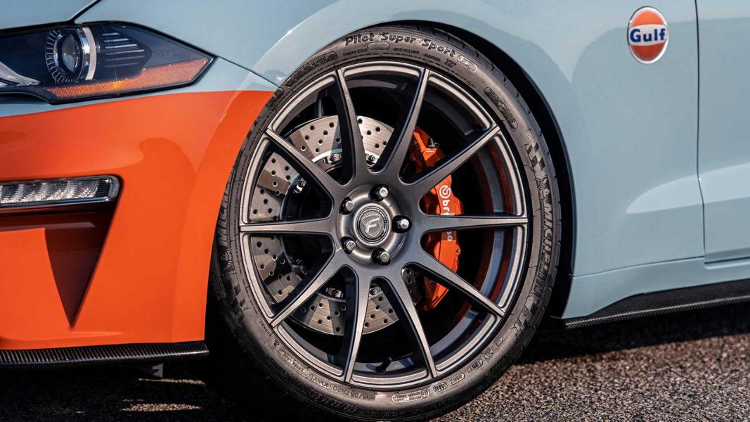 2020 Ford Mustang GT Gulf Heritage Edition Tuning 11 2020 Ford Mustang GT als limitierte Gulf Heritage Edition