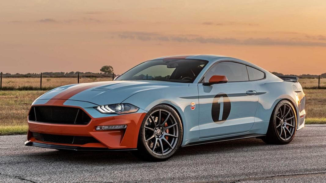 2020 Ford Mustang GT Gulf Heritage Edition Tuning 28 2020 Ford Mustang GT als limitierte Gulf Heritage Edition
