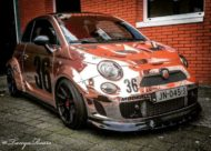 320 PS Fiat Abarth 595C Widebody Tuning 3 190x136 Extremer Umbau   320 PS Fiat Abarth 595C Widebody