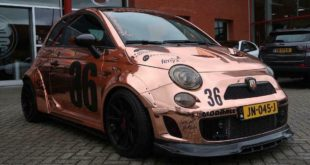 320 PS Fiat Abarth 595C Widebody Tuning Header 310x165 Extremer Umbau   320 PS Fiat Abarth 595C Widebody