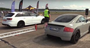 Audi TT R30 Turbo mit 1.000 PS vs. RS6 C7 Avant 310x165 Video: Mercedes CLS Shooting Brake auf DeVille Felgen