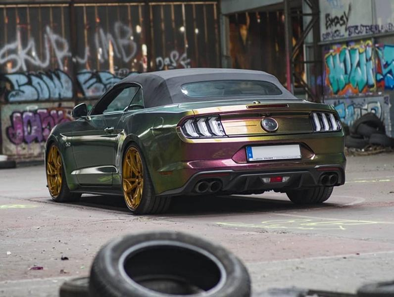 Cham%C3%A4leon MD Ford Mustang GT Tuning Z Performance 5 Krasses Chamäleon Gewand am M&D Ford Mustang GT