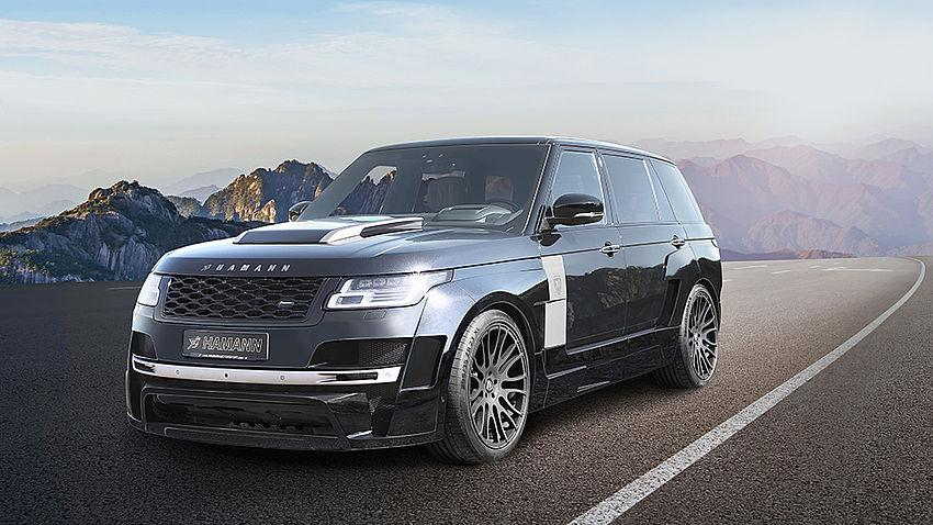 HAMANN Motorsport Myst%C3%A8re Range Rover Widebody Facelift 2018 1 Lifting: HAMANN Motorsport Mystère Range Rover Widebody