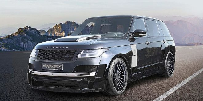 Lifting: HAMANN Motorsport Mystère Range Rover Widebody