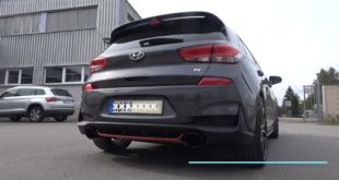 Hyundai i30N Performance mit Fox Klappenanlage 310x165 Hyundai Veloster N Performance Concept Car mit 275 PS