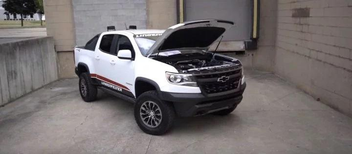 Lingenfelter Chevrolet Colorado ZR2 mit 416 PS Video: Lingenfelter Chevrolet Colorado ZR2 mit 416 PS