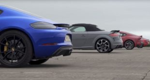 Litchfield Alpine A110 vs. SupraTT RS und Cayman GT 310x165 Video: Litchfield Alpine A110 vs. Supra,TT RS und Cayman GT