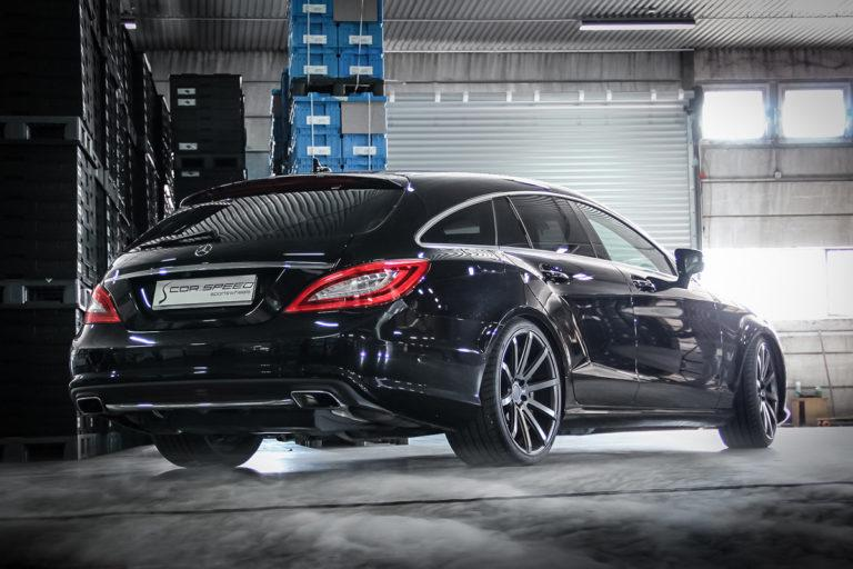 Mercedes CLS Shooting Brake X218 DeVille Felgen Tuning Video: Mercedes CLS Shooting Brake auf DeVille Felgen
