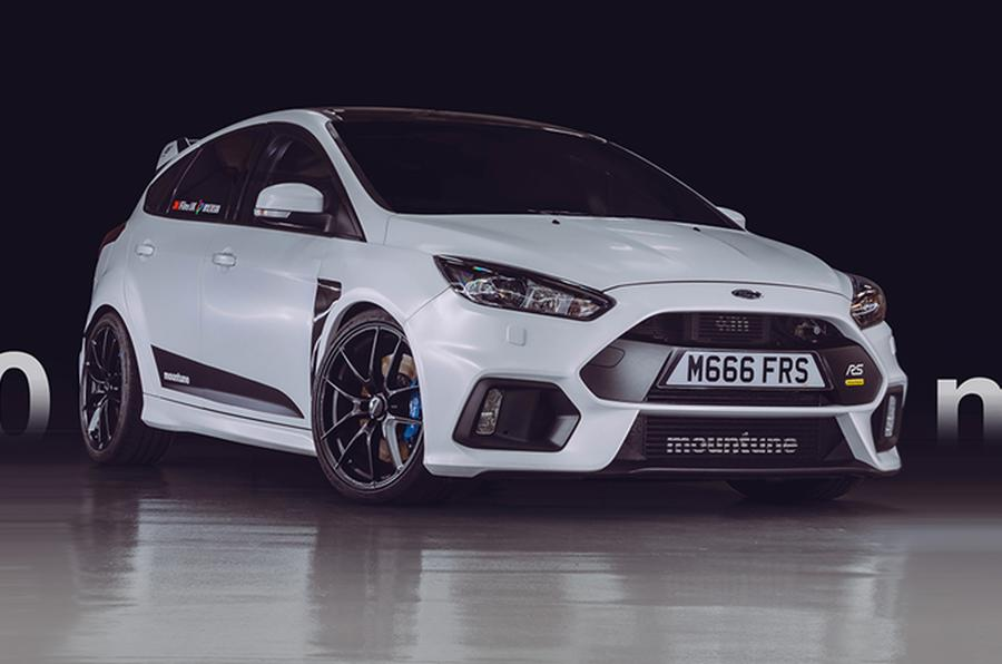 Mountune m520 MRX Ford Focus RS MK3 Tuning m450 MRX 2 513 PS & 700 NM im Mountune m520 MRX Ford Focus RS