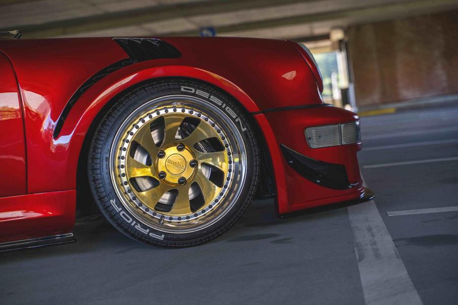 Prior Design Porsche 964 Widebody 911 Rotiform Tuning 11 Fetter Klassiker: Prior Design Porsche 964 Widebody Project