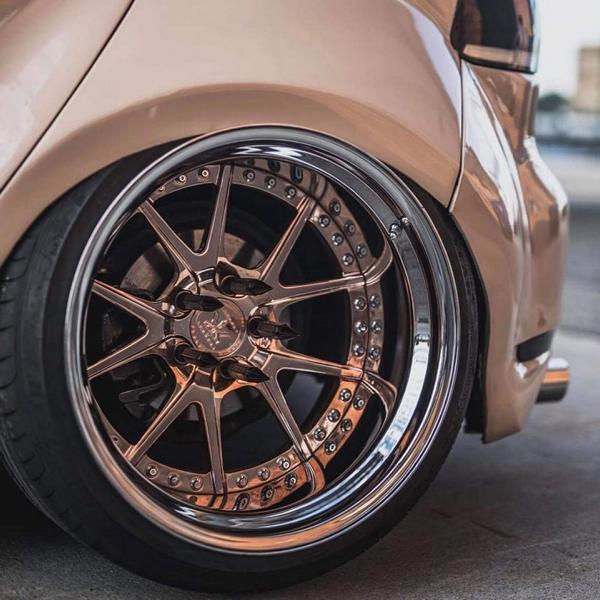 Rennen Forged R55 Alus Widebody VW Golf MK6 Tuning 3 Rennen Forged R55 Alus am Widebody VW Golf MK6