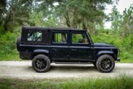 Soft Top Land Rover Defender 110 Tuning ECD V8 3 190x127 Soft Top Land Rover Defender 110 4x4 vom Tuner ECD