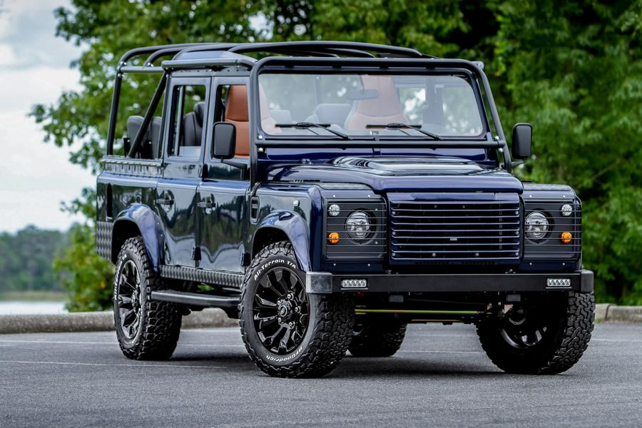 Soft Top Land Rover Defender 110 Tuning ECD V8 4 Soft Top Land Rover Defender 110 4x4 vom Tuner ECD