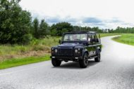 Soft Top Land Rover Defender 110 Tuning ECD V8 5 190x127 Soft Top Land Rover Defender 110 4x4 vom Tuner ECD