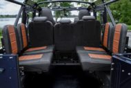 Soft Top Land Rover Defender 110 Tuning ECD V8 9 190x127 Soft Top Land Rover Defender 110 4x4 vom Tuner ECD