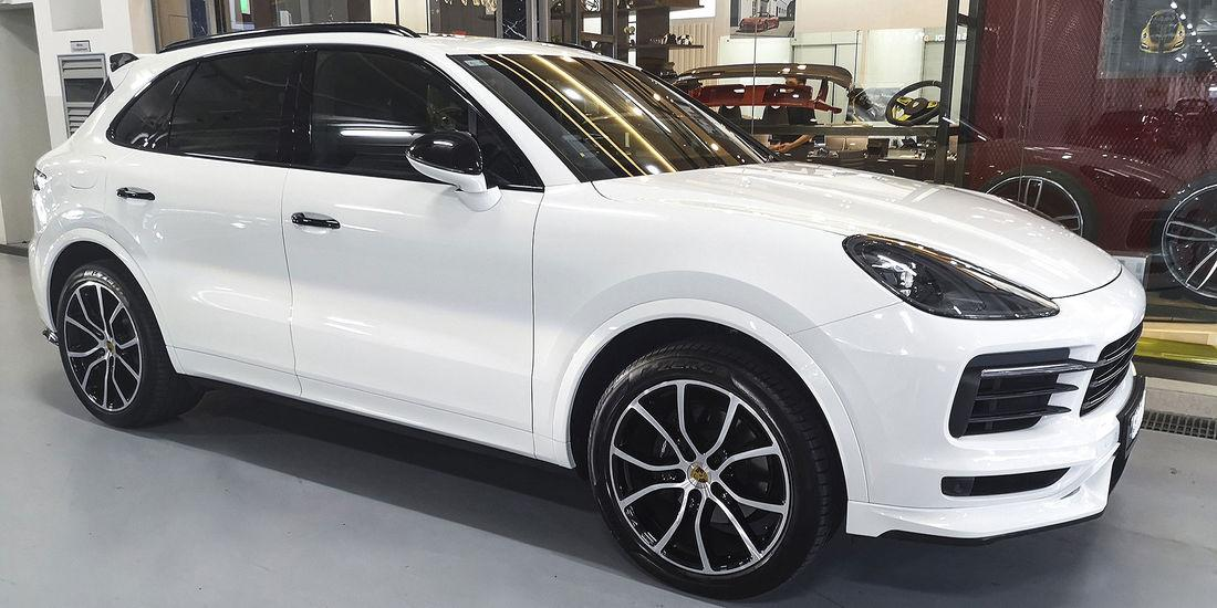 Techart Tuning Porsche Cayenne 9YA 2019 Header Nicht nur am Turbo   Techart Tuning Porsche Cayenne (9YA)