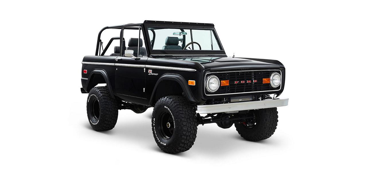 Tuning 435 PS Midnight Onyx 1968 Ford Bronco V8 Classic 24 Richtig cool   435 PS Midnight Onyx 1968 Ford Bronco