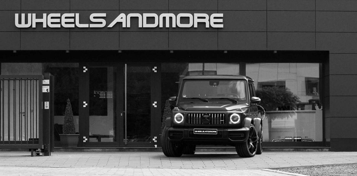 Wheelsandmore Mercedes G63 AMG Tuning W463A 2 780 PS & 1.000 NM im Wheelsandmore Mercedes G63 AMG