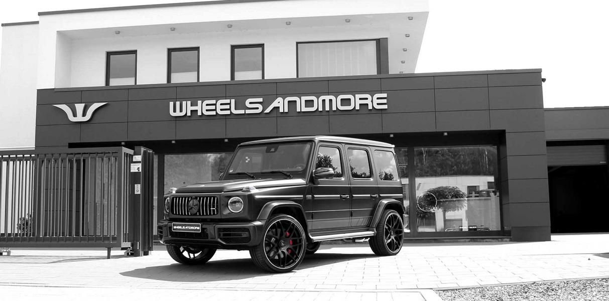 Wheelsandmore Mercedes G63 AMG Tuning W463A 4 780 PS & 1.000 NM im Wheelsandmore Mercedes G63 AMG