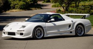 Widebody 1991 Acura NSX mit Kompressor V6 Header 310x165 Video: Tesla S P85D Power im Porsche 912 Oldtimer