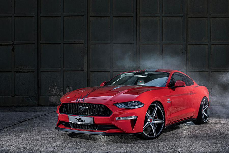 Wolf Racing 735 PS Ford Mustang GT One of 7 Tuning 2019 4 Supersportler Niveau: Wolf Racing 735 PS Ford Mustang GT