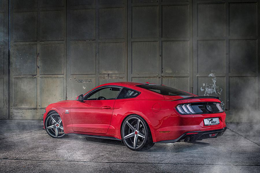 Wolf Racing 735 PS Ford Mustang GT One of 7 Tuning 2019 5 Supersportler Niveau: Wolf Racing 735 PS Ford Mustang GT