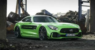Z Performance Mercedes AMG GT S PD700GTR Gymkhana Green Tuning 2 310x165 Z Performance Alus am Mercedes AMG GT S PD700GTR