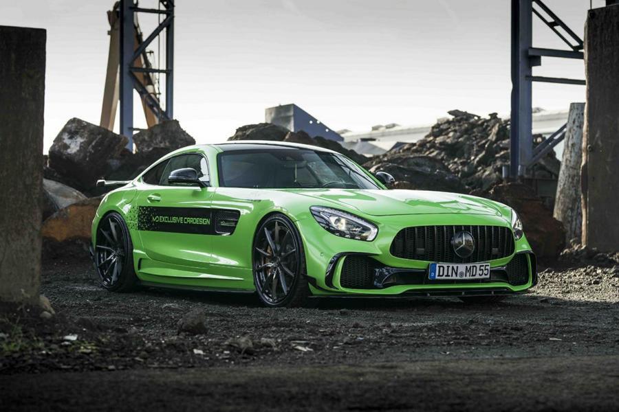Z Performance Mercedes AMG GT S PD700GTR Gymkhana Green Tuning 2 Z Performance Alus am Mercedes AMG GT S PD700GTR