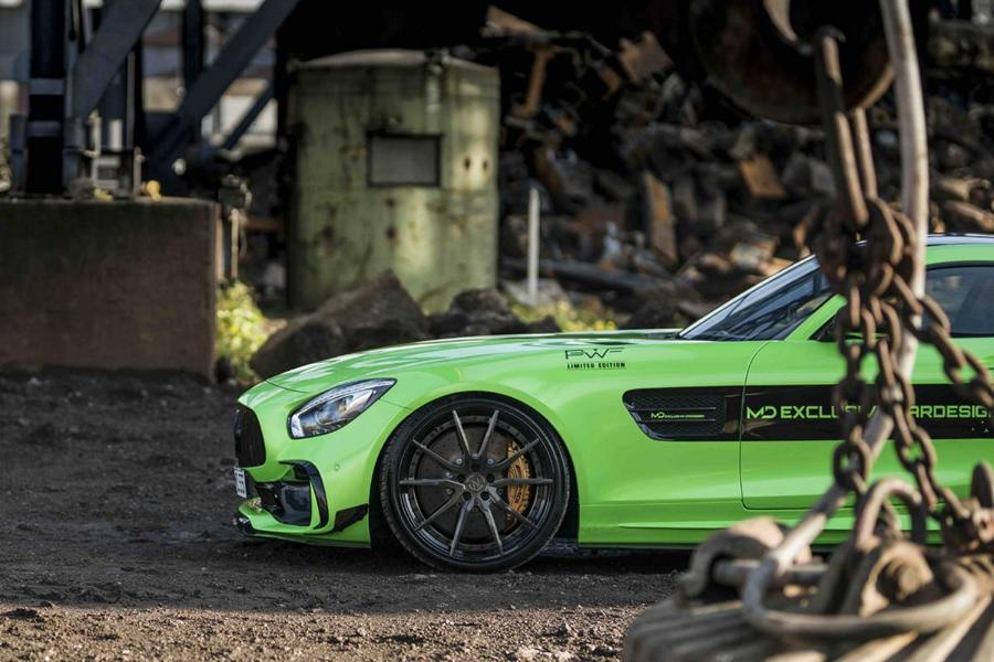 Z Performance Mercedes AMG GT S PD700GTR Gymkhana Green Tuning 3 Z Performance Alus am Mercedes AMG GT S PD700GTR