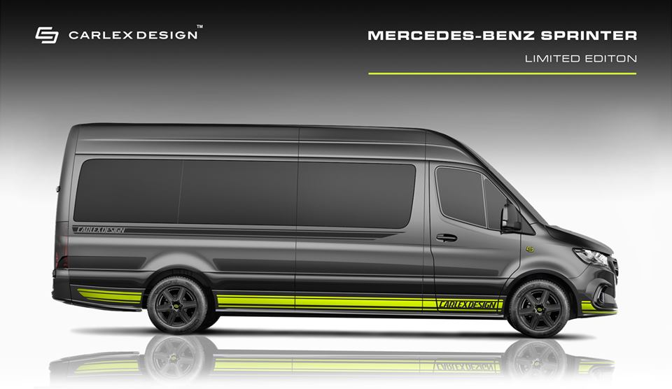 2019 Mercedes Sprinter Limited Edition Carlex Design Tuning 1 2019 Mercedes Sprinter Limited Edition von Carlex Design