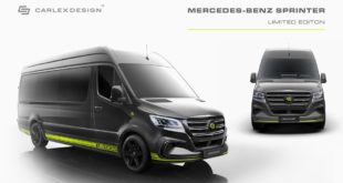2019 Mercedes Sprinter Limited Edition Carlex Design Tuning 2 310x165 2019 Mercedes Sprinter Limited Edition von Carlex Design