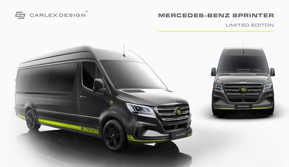 2019 Mercedes Sprinter Limited Edition Carlex Design Tuning 2 2019 Mercedes Sprinter Limited Edition von Carlex Design